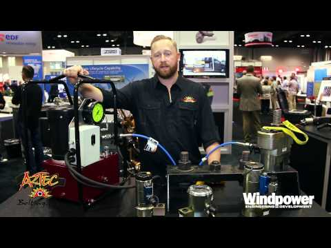 Aztec Bolting Services 2015 Stratus Electric Tensioner Pump