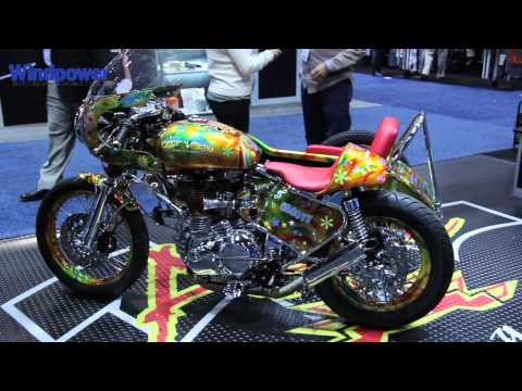 AWEA 2013: Aztec Bolting Motorcycle